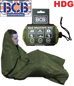 Details About Bcb Bad Weather Bag Bivi Emergency Survival Blanket Hike Sleeping Foil Bothy Sas
