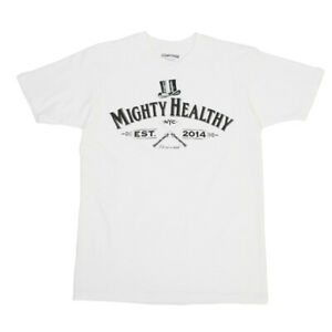 Mighty-Healthy-Undistinguished-Gentleman-Tee-in-White-Large-L-New-T-Shirt