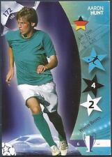 PANINI UEFA CHAMPIONS LEAGUE 2007- #172-WERDER BREMEN-AARON HUNT