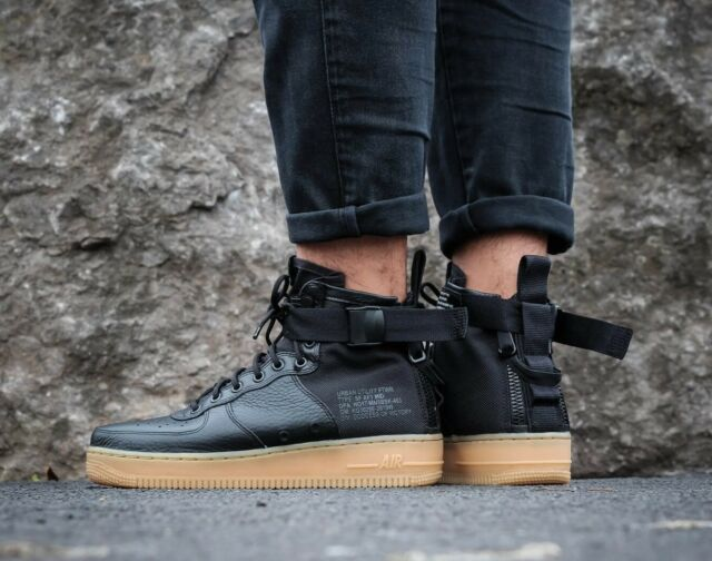 buy popular 4fc99 ffd37 MENS NIKE SF AF1 AIR FORCE 1 MID SIZE 10 EUR 45 (917753 003)