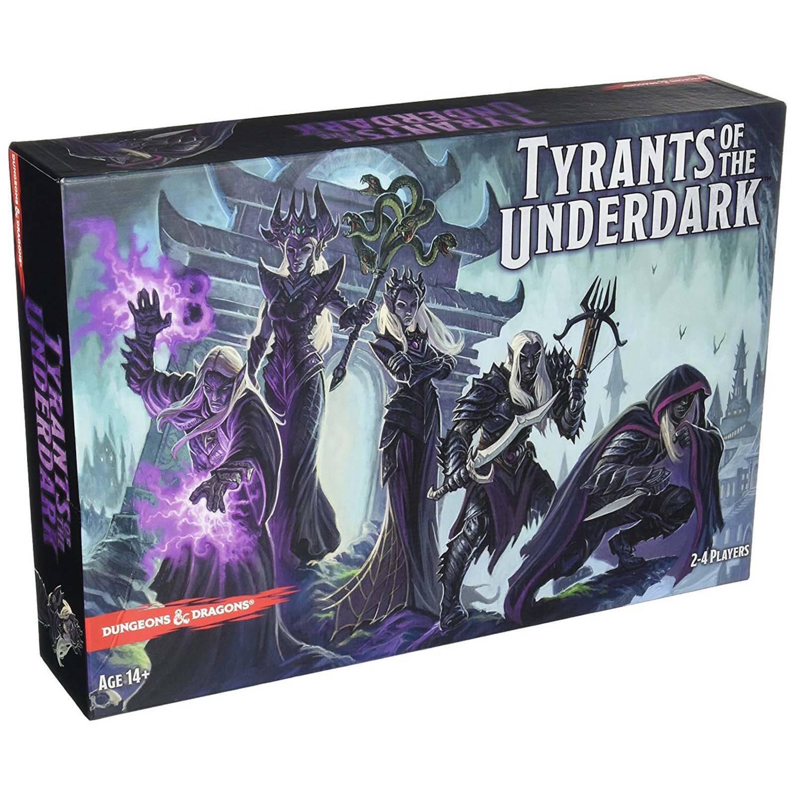 Dungeons & Dragons Tyrants des Underdark Stratégie Donjons et Jeu de Société