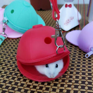 Details about Pet Travel Bag Outdoor Portable Hamster Carrier Rat Small  Animal Carrier
