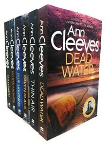 Ann Cleeves Shetland Series Collection Set 6 Books (Book 1-6) New Bundle Pack
