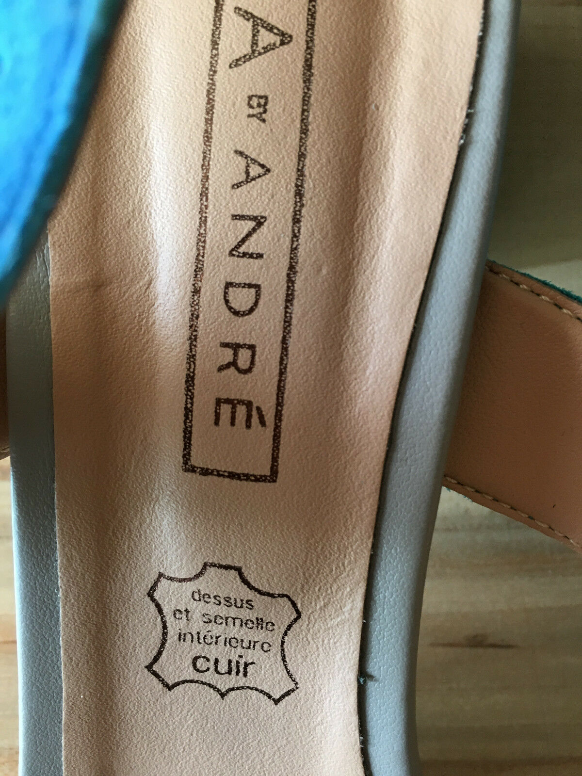 A by André Wildleder Neu Schuhe Sandalen Gr. 40, Neu Wildleder mit Karton 0a2327