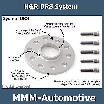 H&R SV 20mm 20245410 Mazda MX-5 (Typ NA) Spurverbreiterung Spurplatten