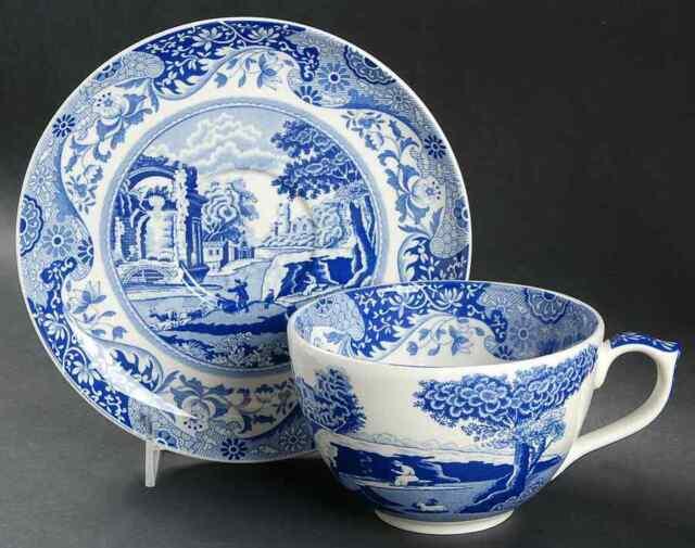 Spode Blue Italian Square Serving Bowl Portmeirion USA 1532832