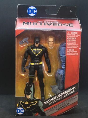 """Action Figure KING SHARK DC Multi-Univers 6/"""" Jim Gordon Batman"""