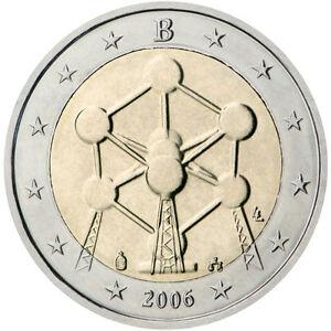 * 2 EURO COMMEMORATIVE - UNC - BELGIQUE 2006 - REOUVERTURE  DE L'ATOMIUM