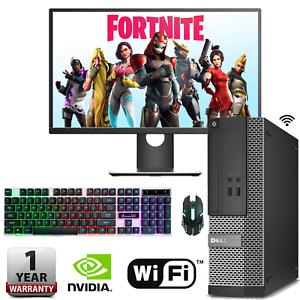 Fast-Gaming-PC-Dell-Ordinateur-Bundle-i3-i5-i7-8-Go-240-Go-SSD-Windows-10-GT-710