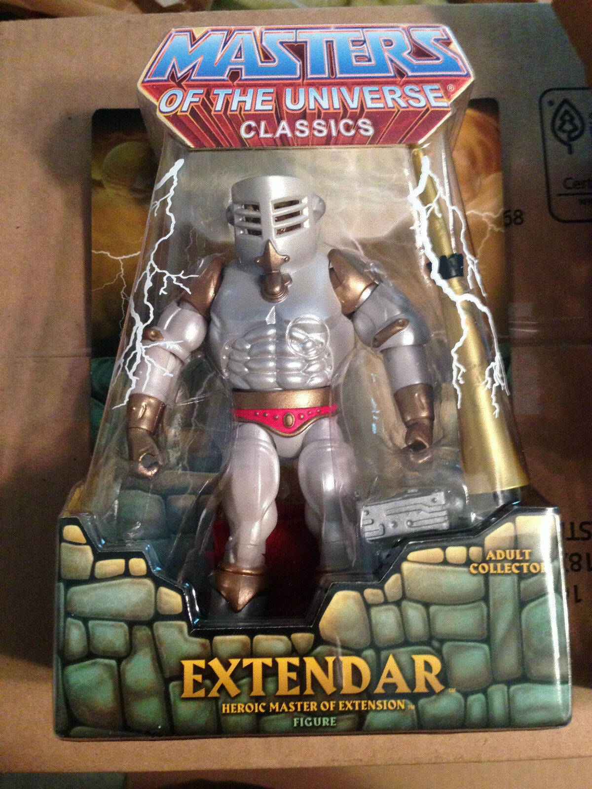 EXTENDAR HE-MAN MASTERS OFTHE UNIVERSE MOTU SOLD OUT CLUB EXCLUSIVE FIGURE