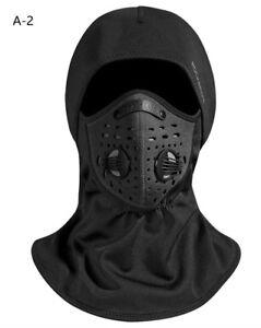 ROCKBROS-Cagoule-Polaire-Masque-Tour-de-Cou-Coupe-Vent-Thermique-avec-Filtre