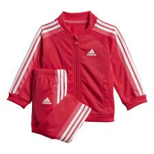 Adidas Girls Tracksuit Set Athletic Sports Logo Jogger Training Baby ED1178 New