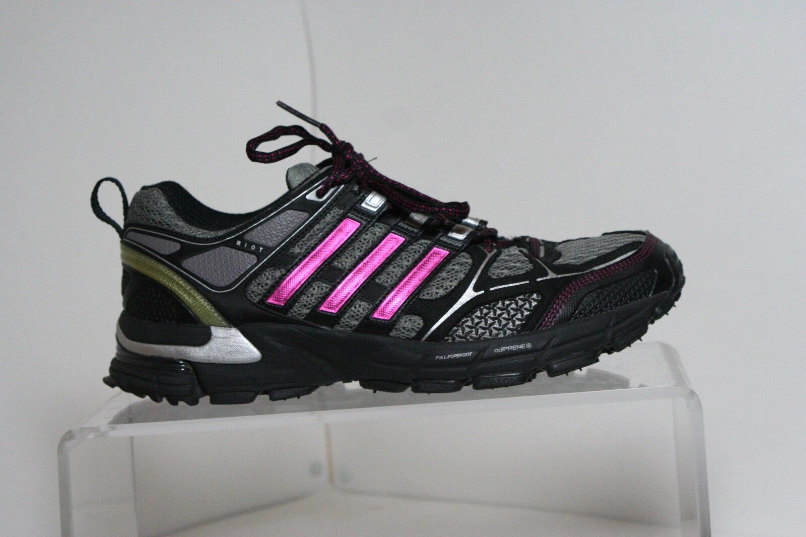 Adidas Supernova Riot 3 Running Trail Sneaker '10 Multi Black Pink Women 10 Hip