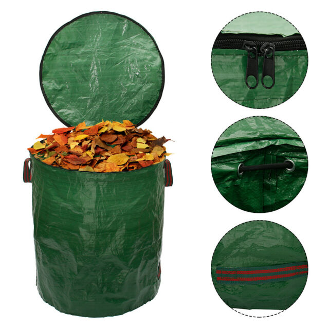 Gartensack Laubsack Gartenabfallsäcke Gartenabfallbehälter Mit Deckel 272 l XXL;