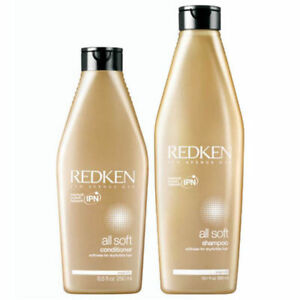 REDKEN-All-Soft-Shampoo-and-Conditioner-10-1-oz-amp-8-5-oz-Duo-Brand-NEW