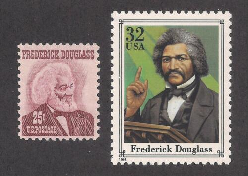 2 U.S FREDERICK DOUGLASS POSTAGE STAMPS MINT CONDITION