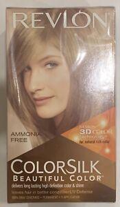 Revlon Colorsilk Beautiful Hair Color Gray Coverage Permanent 61 Dark Blonde 309976623610 Ebay