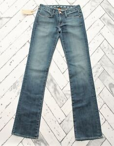 New-Earnest-Sewn-Keaton-143-Slight-Boot-Cut-Jeans-Sz-24-0-with-33-034-Inseam