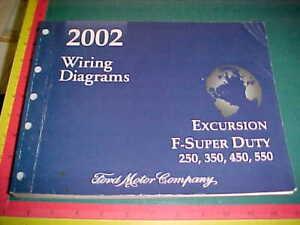 2002 FORD EXCURSION F250 F350 F450 F550 F-SUPER DUTY ...