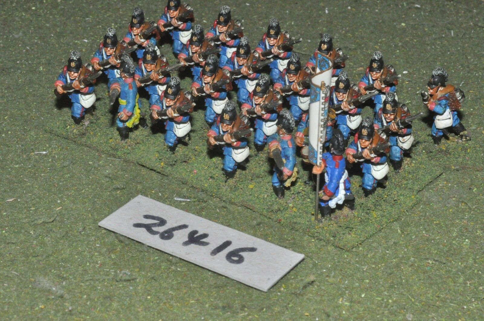 25mm 19th century   prussian - line 24 figures - inf (26416)