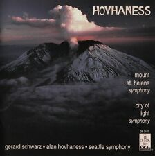 ALAN HOVHANESS / SEATTLE SYMPHONY - CD Mount St. Helens Symphony - Delos DE-3137