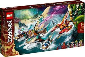 LEGO-Ninjago-71748-Duell-der-Katamarane-Island-Jay-Island-Kai-N3-21-VORVERKAUF