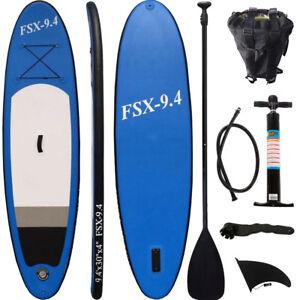 SUP-Board-Stand-Up-Paddle-Surf-Board-aufblasbar-inkl-Paddel-ISUP-Paddling-285cm