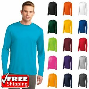 Sport Tek St350ls Men S Long Sleeve Dri Fit Competitor Moisture Wicking T Shirt Ebay I ordered the carbon heather to get a nice. details about sport tek st350ls men s long sleeve dri fit competitor moisture wicking t shirt