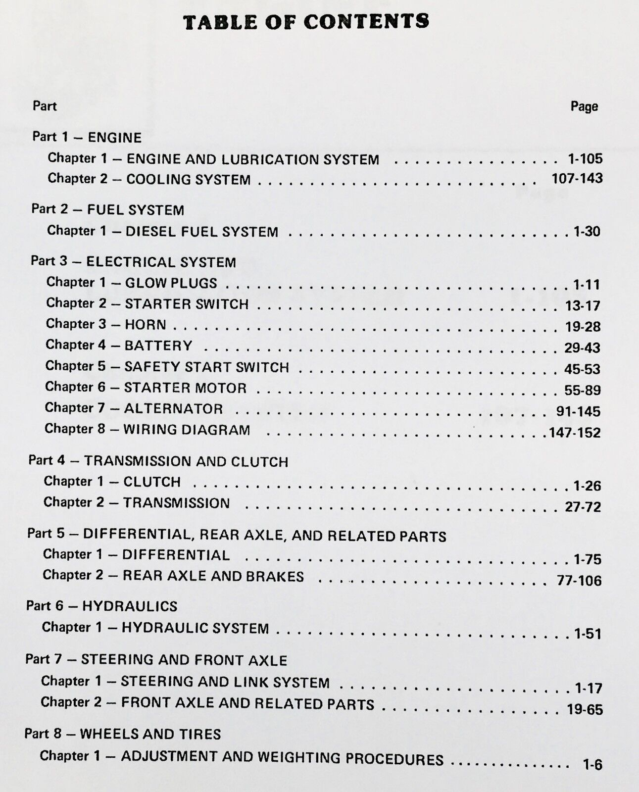 Ford 1000 Series Tractors Factory Repair Manual Se 3771 A0005 Ebay 5600 Starter Wire Diagram Norton Secured Powered By Verisign