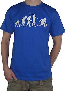 NEW-Evolution-Bowling-T-Shirt-Funny-Ape-to-Man-Bowls-Skittles-Ten-Pin-Bowler-Top
