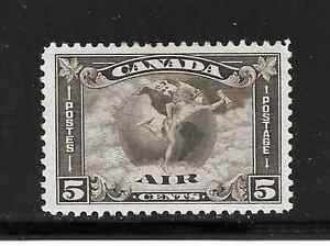 CANADA-AIR-MAIL-5-CENTS-STAMP-C-2-MH-BIG-SALE
