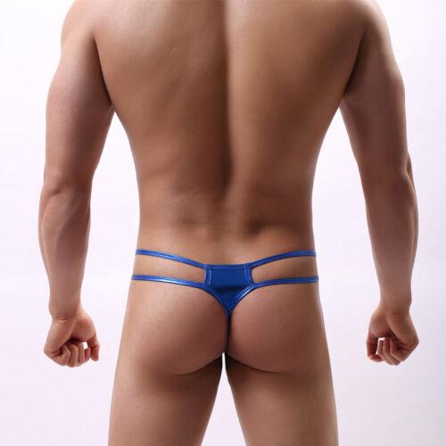 New Mens Sissy Low-Waist Jockstrap Underwear Bulge Pouch G-string Thong T-back