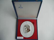 Meissen Medaillon Wolfgang Amadeus Mozart + Original-Schatulle (meine Pos. 5)