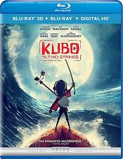 Kubo and the Two Strings (Blu-ray 3D + Blu-ray + Digital HD)(Format: Blu-ray)