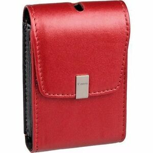 Canon-PSC-1050-Red-Leather-Case-for-canon-Powershot-SD780-SD1400-SD-940IS-Camera