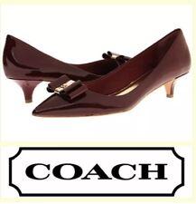 abf1fc503124 Coach Mandy Kitten Heel PUMPS Size 8.5 for sale online