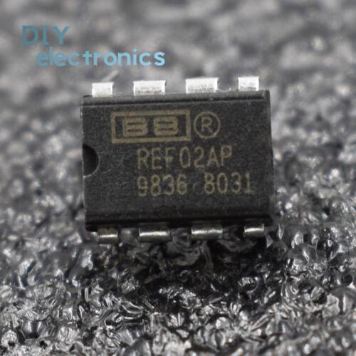1PCS//5PCS REF02AP REF02 DIP-8 5V Precision VOLTAGE REFERENCE BB NEW