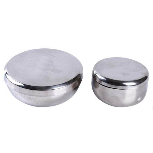 Stainless Steel Food Sample Test Box Round Sample Box C