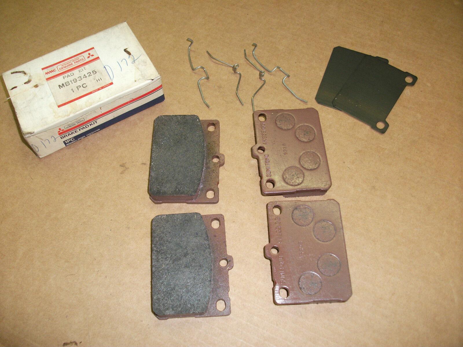 NOS Mopar Mitsubishi 1973-1984 Colt Arrow disc brake pads MB193425
