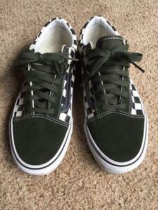 5 50th 7 Skool EdDrk Green About Vans Black Checkeboardsz AnnivSpecial Details Old PkXZlwOiuT