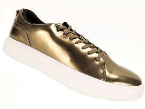 11275025704 GUESS Men s DeLacruz Fashion Sneakers Bronze Size 13 M 191865236731 ...
