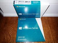 Microsoft Windows Server 2012 R2 Essentials,sku G3s-00587,64-bit,full Retail Box