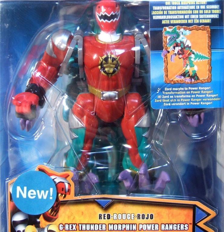 Power Rangers Dino Thunder ROT G-Rex Morphin 6