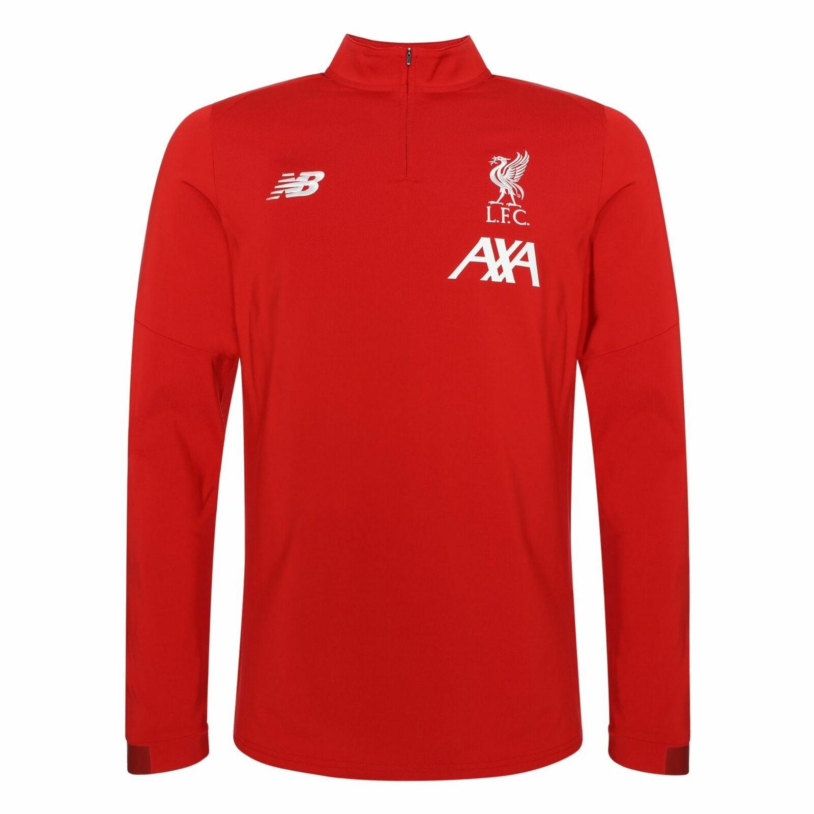 Liverpool FC Hombres Entrenamiento Rojo en tono  Midlayer Camisa 19 20 LFC oficial  protección post-venta