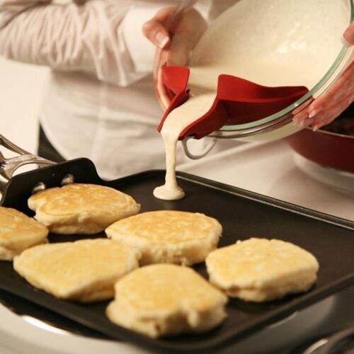 Soupe riz Entonnoir Cuisson Outil cuisson Silicone cuisine Gadget Lavage #FR