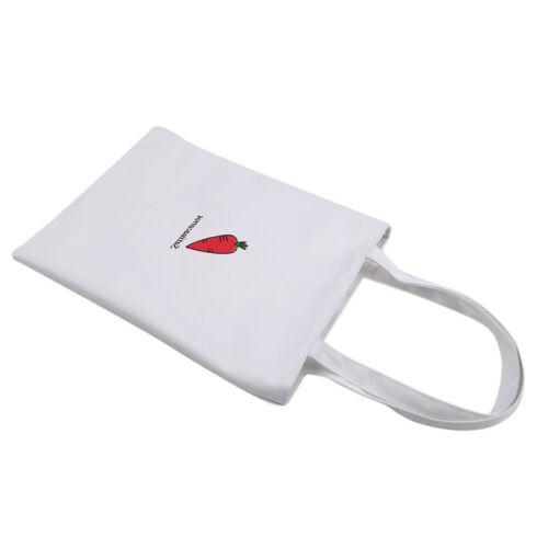 Women Durable Canvas Tote Bag Large Capacity Handbag Casual Shoulder Shopper WL