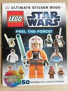 LEGO-INSTRUCTIONS-BOOKLET-ONLY-Ultimate-Sticker-Book-Star-Wars-N-A