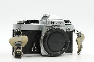 Nikon FE SLR Film Kamera Body chrome #331