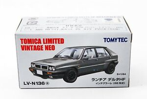TOMYTEC-Tomica-Limited-Vintage-NEO-LV-N136a-Lancia-Delta-HF-Integrale-Gray-1-64
