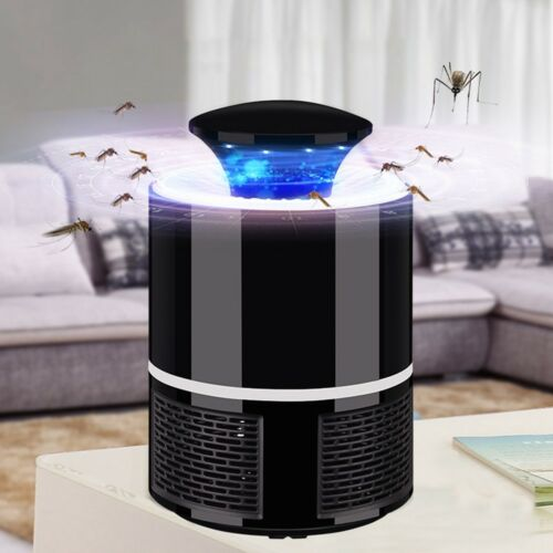 USB LED Electric Mosquito Killer Lamp Fly Insect Bug Trap Zapper Light  Indoor